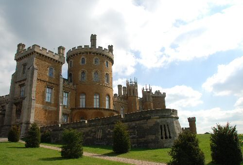 A close-up on Belvoir Castle, home of the Duke and Duchess of Rutland under whose auspices Laury Dizengremel is artist-in-residence