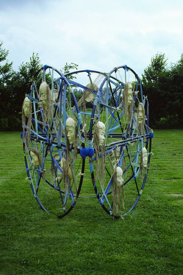 Dreamcatcher Tribe - temporary monumental outdoor sculpture