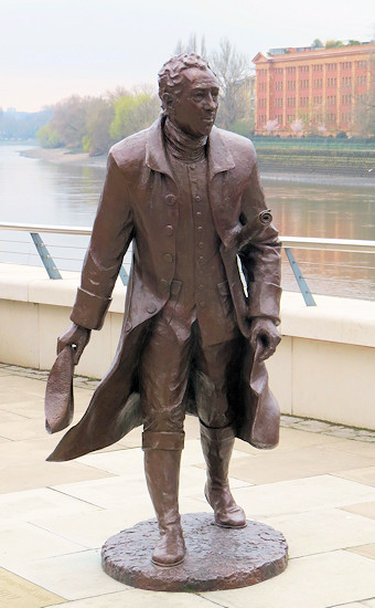 Click here for more info on the lifesize statue of Lancelot Brown