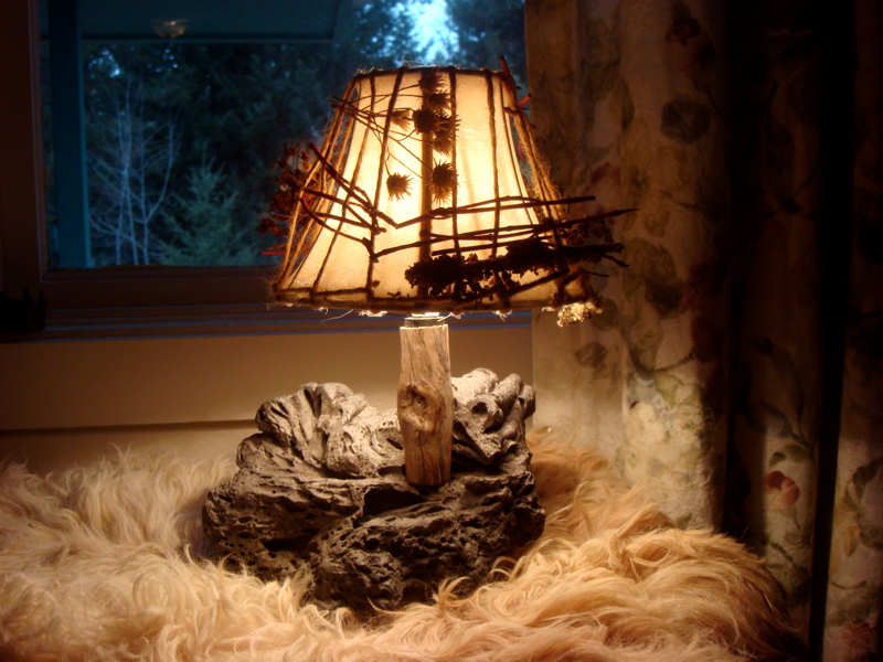 Each Lamp Is Unique. The Lava Rock Used Is Thousands Of Years Old.