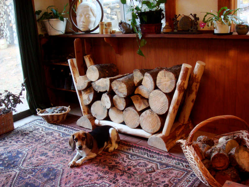 log holder firewood rack